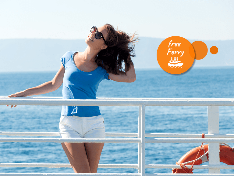 Free ferry offer Avitur Tour Operator